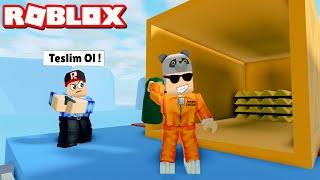 Polise Yakalanmadan Soygun Yap? Yeni Soygun Yeri! - Panda ile Roblox Mad City