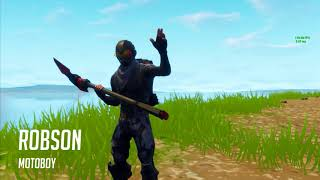 Fortnite Reality Show-Ep 01-Robson, the motorcycle Courier
