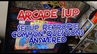 Arcade 1Up RetroPie Raspberry Pi 3 Setup Common Questions