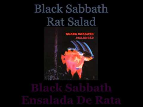 Black Sabbath - Rat Salad - 07 - Lyrics / Subtitulos en español (James Nwobhm) Traducida