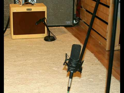 guitar amp with close and distant microphones youtube. Black Bedroom Furniture Sets. Home Design Ideas