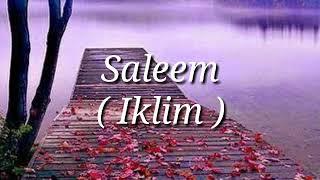Lirik lagu Elusan Cinta - Saleem ( Iklim )