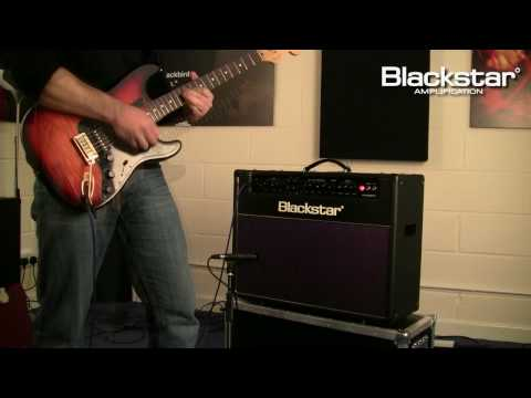 """Demonstration of the New Blackstar HT-60 Stage 2x12"""" combo from the Blackstar HT-Venue Series."""