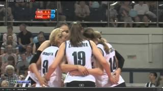 Волейбол Кубок Ельцина 2015 года Россия - Казахстан ( 2 часть )