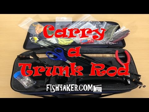 Carry a Trunk Rod Kit; Keep a travel rod and reel in your car: Episode 272