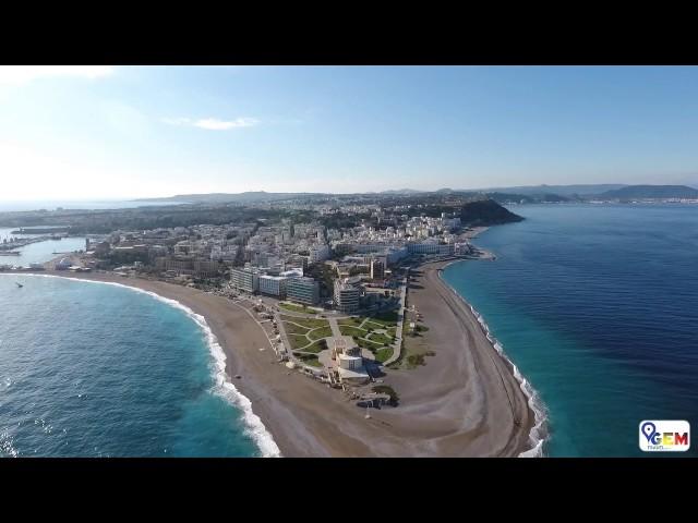 GEM Travel Rhodes - Aerial View of Rhodes Town (HD)