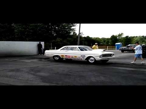 4 Speed Drag Racing IN CAR 64 Falcon Boss 302