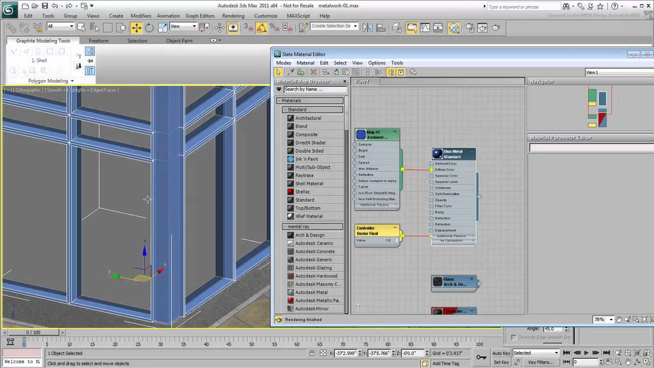 Aluminium curtain wall systems metal technology - Modeling Architectural Metal Part 3 Curtain Walls