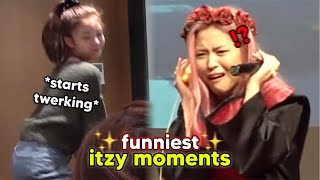 probably the funniest itzy moments