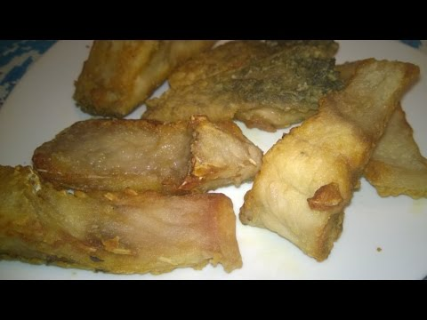 Fried Fish Recipe (Carp) - Russian Recipe