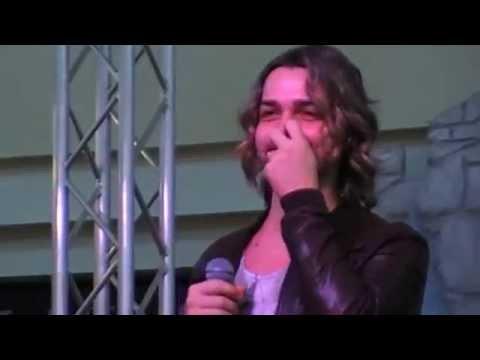 Vlerio Scanu instore tour mini live a Perugia 06/04/14