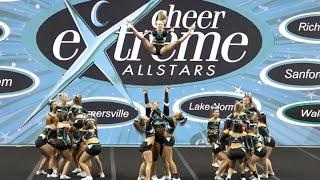 Cheer Extreme Salem Legacy Showcase 2015
