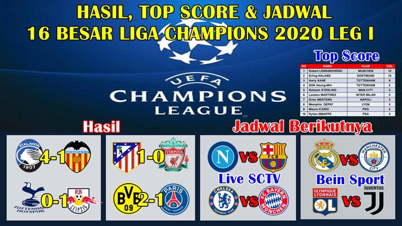 Hasil 16 Besar Liga Champions Tadi Malam Tottenham Vs Leipzig Atalanta Vs Valencia Ucl 2019 2020 Youtube