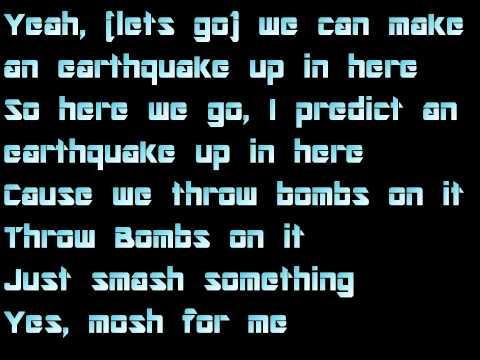 Labrinth ft Tinie Tempah - Earthquake  w/lyrics