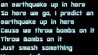 Labrinth ft Tinie Tempah - Earthquake  w/lyrics