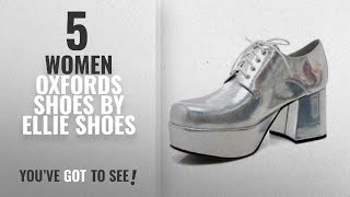 Top 5 Ellie Shoes Women Oxfords Shoes [2018]: 3 Inch Heel With 15' Platform Pimp Shoe Men's Sizes