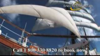 Sea Cloud Caribbean Sailing Video