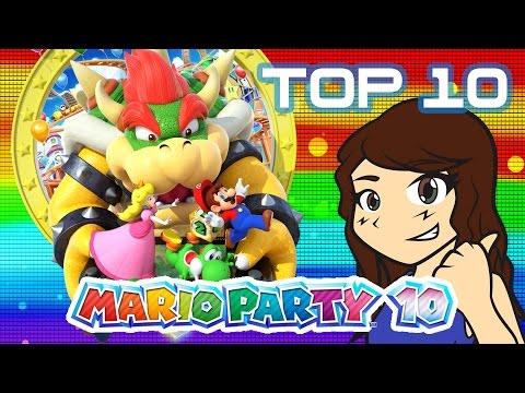 Top 10 Mario Party 10 Minigames