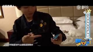 TFBOYS Vương Tuấn Khải hé lộ những món đồ mang theo khi đi học