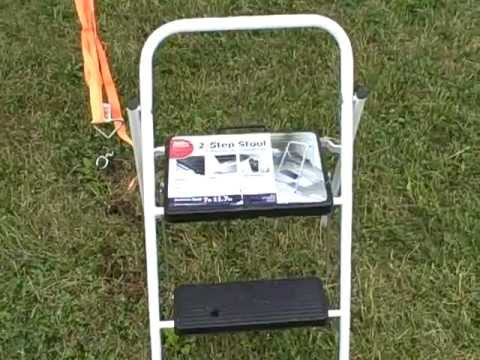 Is This Folding 2 Step Stool Safe For Aircraft Youtube