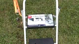 Is This Folding 2 Step Stool Safe For Aircraft?