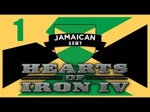 [Retro-Vujo] Hearts of Iron IV - Modern Day Jamaica #1 - Playlist In Comments