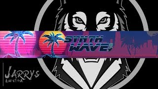 RETRO SYNTHWAVE BANNER SPEED ART || [LINK IN DESC] by JarryS
