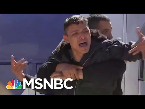 Mexican Federales Respond To Asylum Seekers Near U.S. Border | Velshi & Ruhle | MSNBC