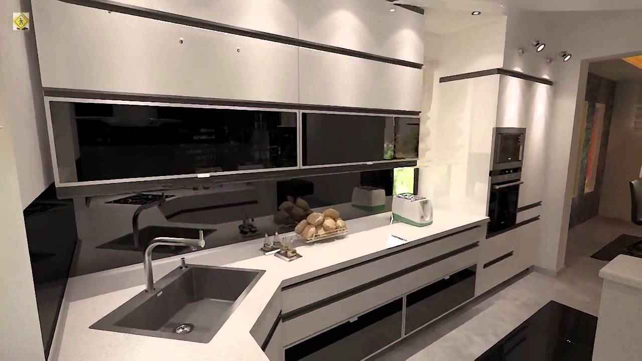 Cucina Con Design Ecosostenibile : Cucina di design con salotto youtube