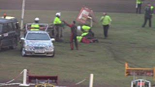 Horrific accident at Stock Car meeting