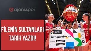 MÜTHİŞSİNİZ ! Maç sonu kutlamalar I A Milli Kadın Voleybol Takımı olimpiyatlarda I Türkiye - Almanya