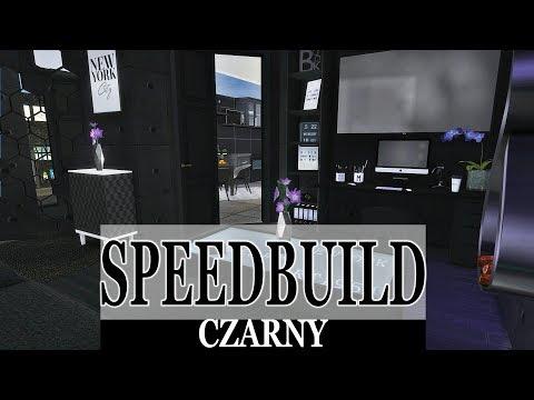 """🏠TS4 Speedbuild Jeden Kolor #21 """"CZARNY"""" +MODY/CC"""