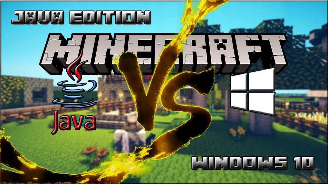 MINECRAFT:JAVA EDITION VS WINDOWS 8 QUAL A DIFERENÇA? ‹ UzumakiGBgamer ›