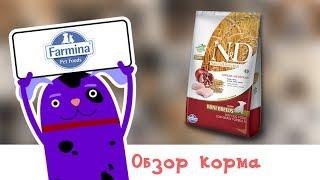 Обзор корма N&D Low Grain Chicken and Pomegranate Puppy Mini