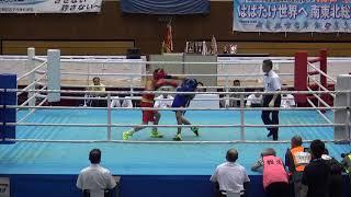 2017年 ボクシング 杉本聖弥vs須藤龍揮 フライ級 準決勝