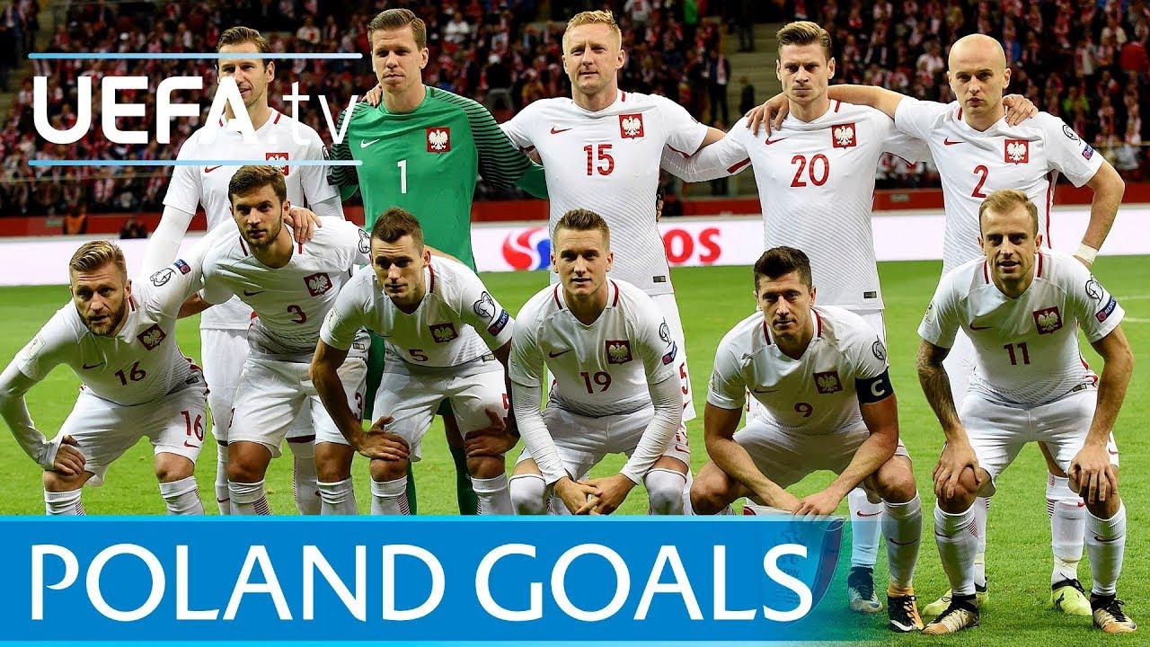 Resultado de imagem para Poland top five European Qualifiers goals