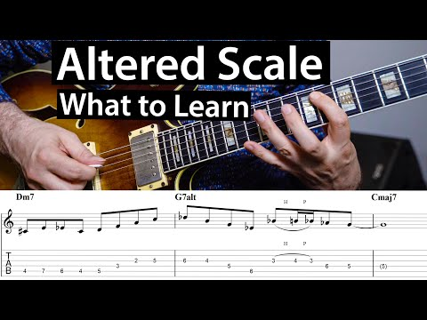 Altered Scale - How To Make It Sound Amazing