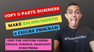 Business In A Box - Copy & Paste Affiliate Marketing System