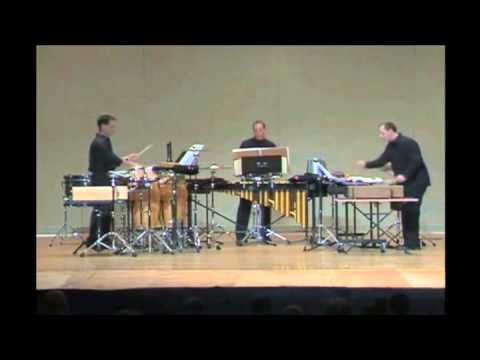 "Attacca Percussion Group - excerpt from ""Worker's Union"" (Andriessen)"
