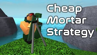 Cheap 1v1 Mortar Strategy | Beginner Strategies | Tower Battles [ROBLOX]