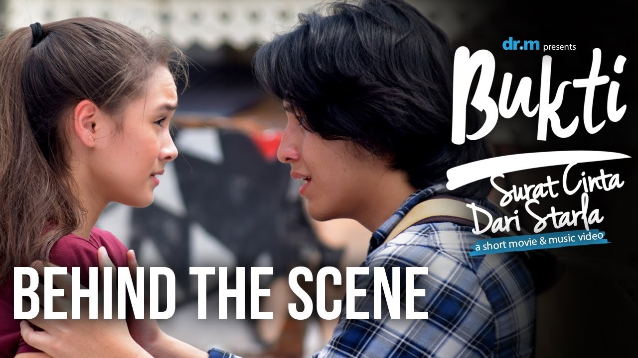 Bukti Surat Cinta Dari Starla Jefri Nichol Caitlin Short Movie Behind The Scene
