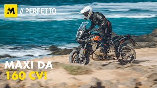 KTM 1290 Super Adventure S TEST 2021: 160 cv, elettronica al top [English sub]
