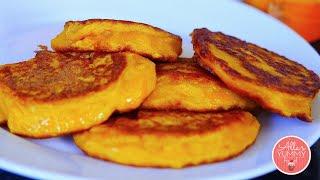 How to make Pumpkin Pancakes | Oladushki | Оладьи из тыквы