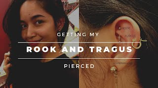 Getting My Rook and Tragus Pierced at Vimana | Sofie Q