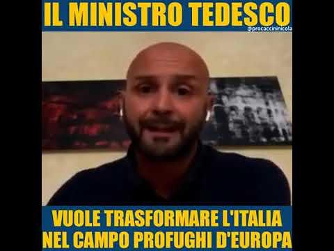 Vogliono trasformare l'Italia in campo profughi. - On. Procaccini
