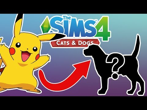 THE SIMS 4 CATS & DOGS! PIKACHU CHALLENGE!