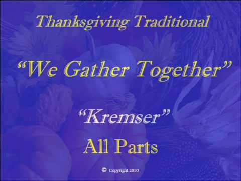 We Gather Together - All-Parts
