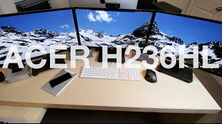 Review: ACER H236HL bid 23-inch Widescreen LCD Monitor