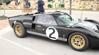 1966 Ford GT40 Amazing Sound HD EPIC V8 BRUTAL Sound