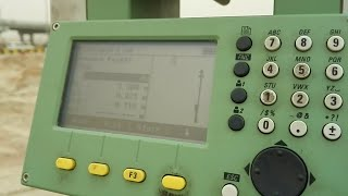 How to make a Reference Line in Total Station TS 06 Plus in Urdu
